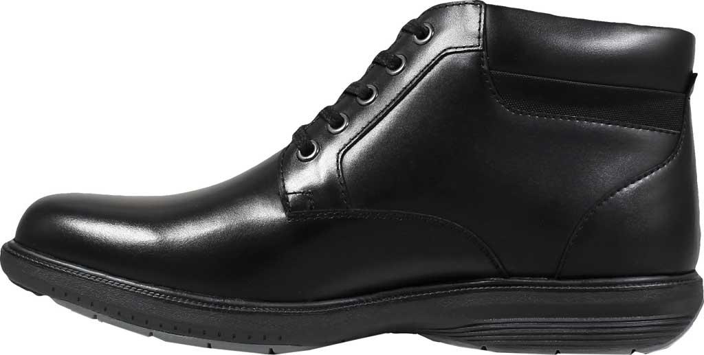 Men's Nunn Bush Memphis St. Moc Toe Waterproof Boot, Black Smooth Leather, large, image 3