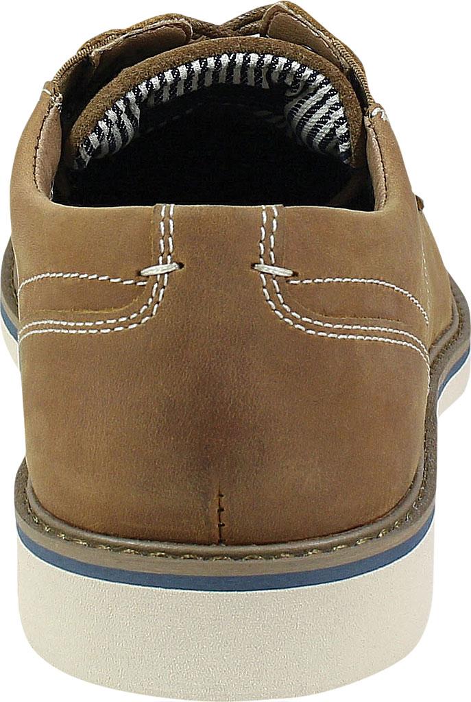 Men's Nunn Bush Barklay Plain Toe Oxford, Tan Crazy Horse Leather, large, image 4