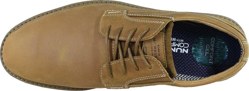 Men's Nunn Bush Barklay Plain Toe Oxford, Tan Crazy Horse Leather, large, image 5