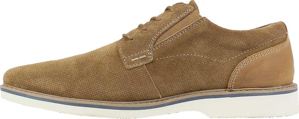 Men's Nunn Bush Barklay Plain Toe Oxford, Camel Multi Leather, large, image 3