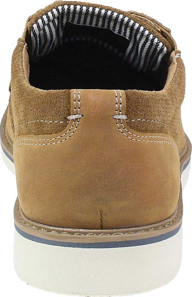 Men's Nunn Bush Barklay Plain Toe Oxford, Camel Multi Leather, large, image 4