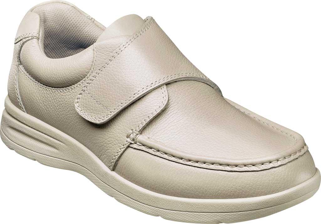 Men's Nunn Bush Cam Moc Toe Hook and Loop Slip On Shoe, , large, image 1
