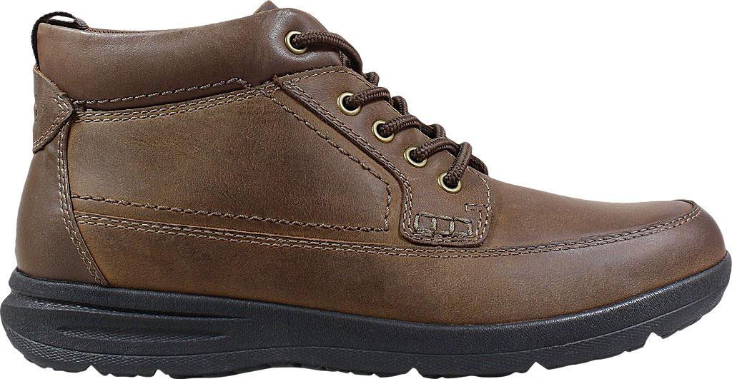Men's Nunn Bush Cam Moc Toe Chukka Boot, Brown Crazy Horse Leather, large, image 2