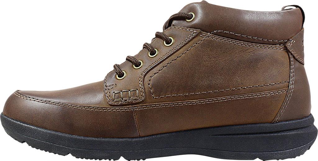 Men's Nunn Bush Cam Moc Toe Chukka Boot, Brown Crazy Horse Leather, large, image 3