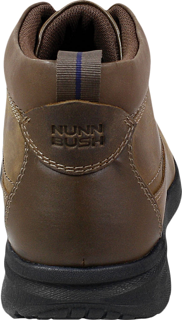Men's Nunn Bush Cam Moc Toe Chukka Boot, Brown Crazy Horse Leather, large, image 4
