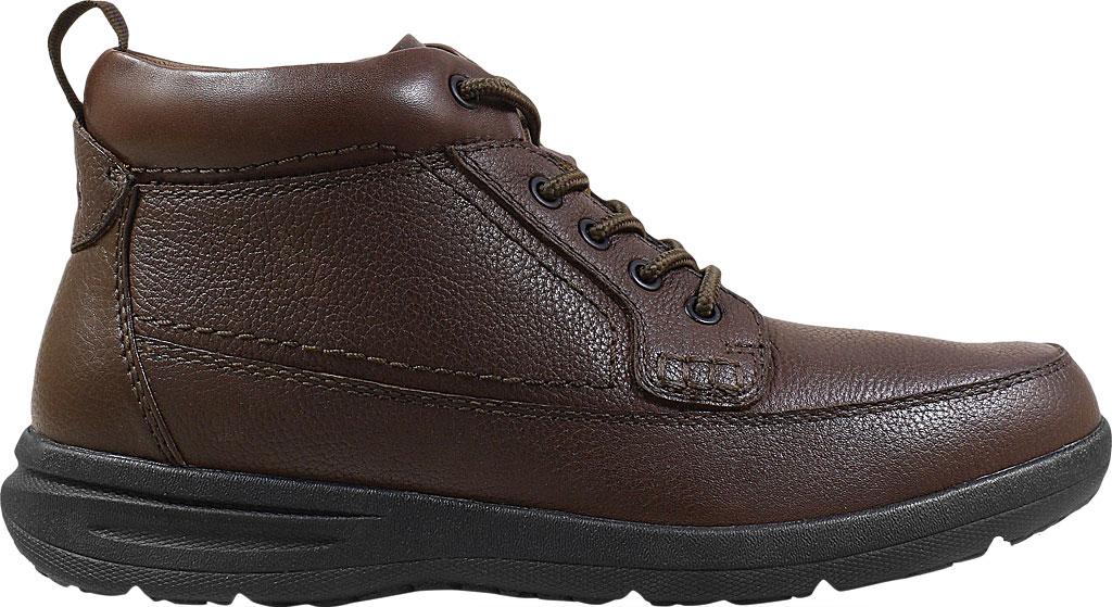 Men's Nunn Bush Cam Moc Toe Chukka Boot, Brown Tumbled Leather, large, image 2
