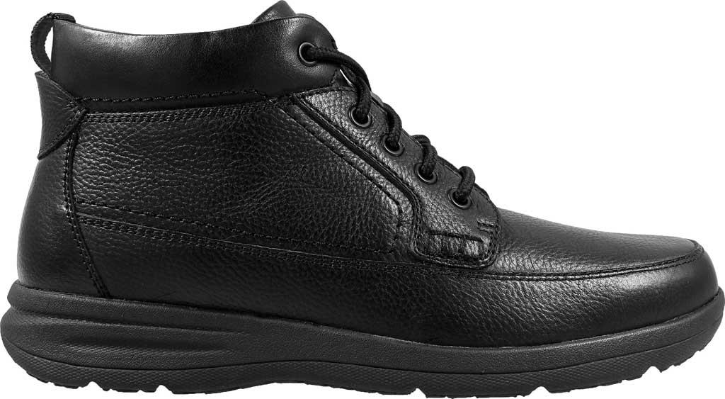 Men's Nunn Bush Cam Moc Toe Chukka Boot, Black Leather, large, image 1