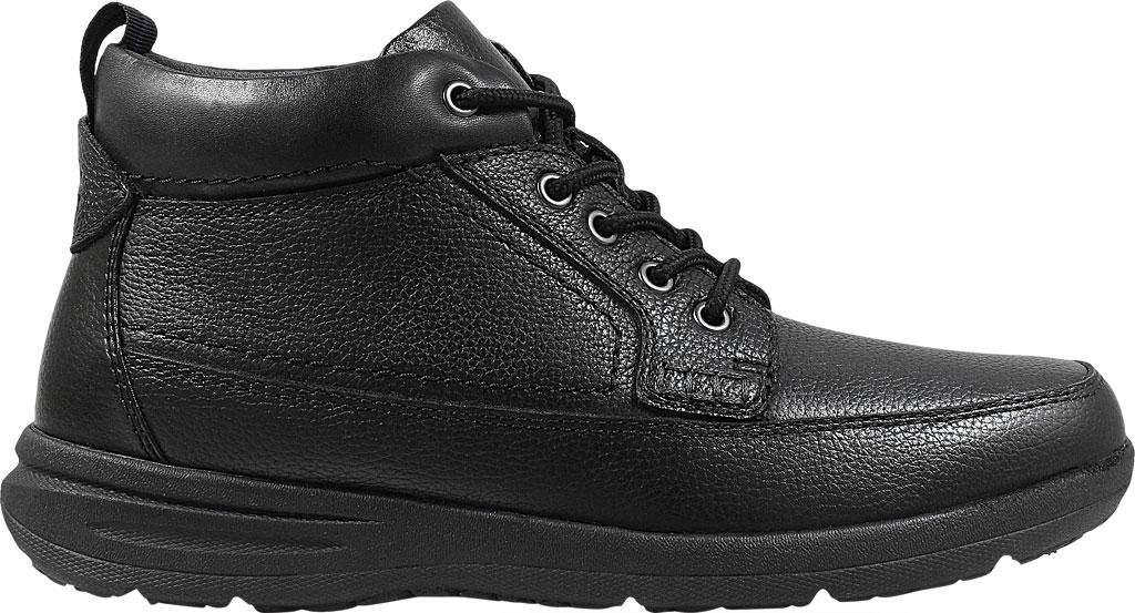 Men's Nunn Bush Cam Moc Toe Chukka Boot, Black Leather, large, image 2