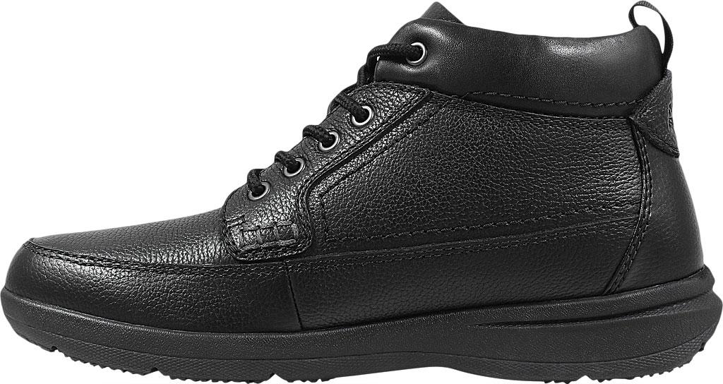 Men's Nunn Bush Cam Moc Toe Chukka Boot, Black Leather, large, image 3