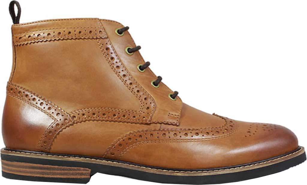 Men's Nunn Bush Odell Wingtip Chukka Boot, Tan Crazy Horse Leather, large, image 2