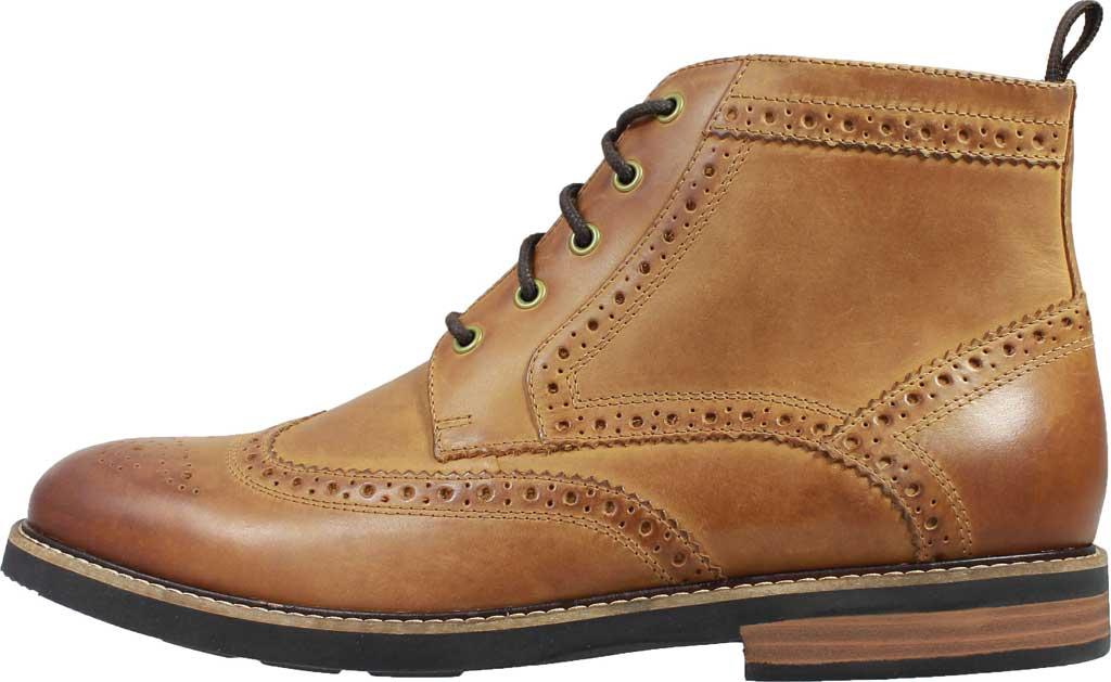Men's Nunn Bush Odell Wingtip Chukka Boot, Tan Crazy Horse Leather, large, image 3