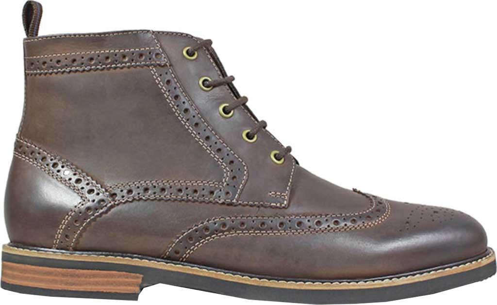 Men's Nunn Bush Odell Wingtip Chukka Boot, Brown Crazy Horse Leather, large, image 2