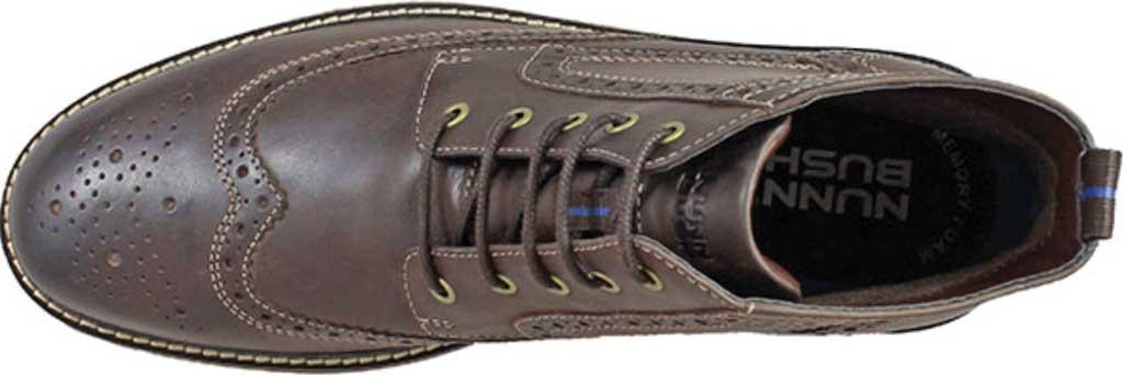 Men's Nunn Bush Odell Wingtip Chukka Boot, Brown Crazy Horse Leather, large, image 4