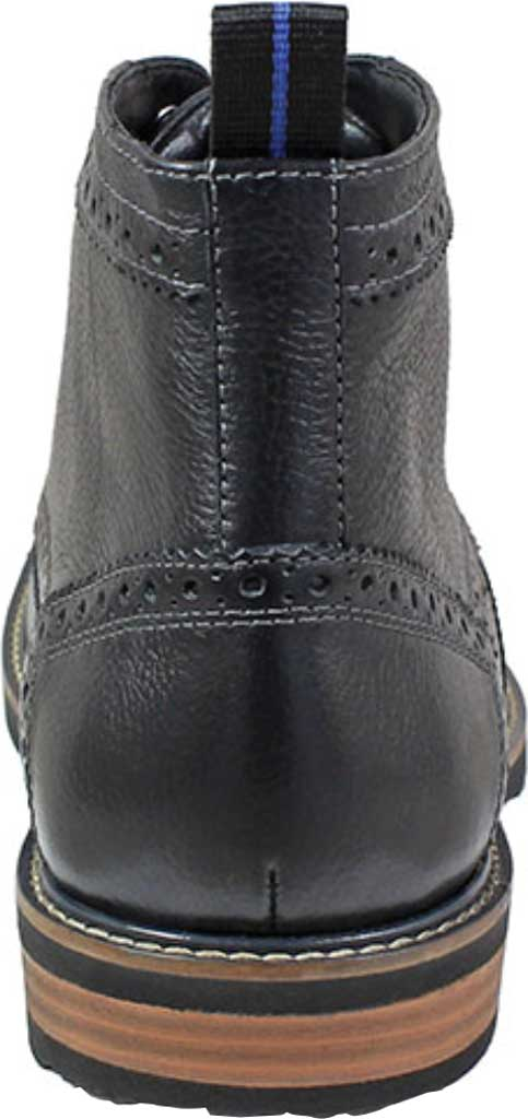 Men's Nunn Bush Odell Wingtip Chukka Boot, Black Tumbled Leather, large, image 3