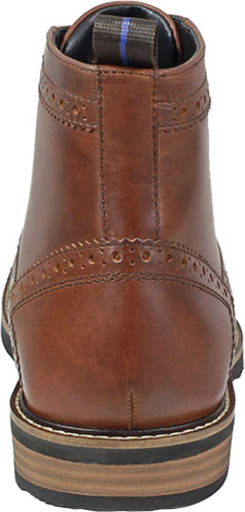 Men's Nunn Bush Odell Wingtip Chukka Boot, Rust Tumbled Leather, large, image 4
