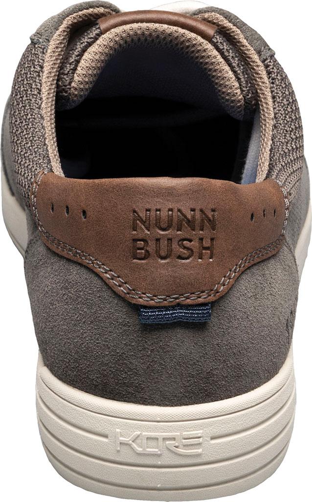 Men's Nunn Bush Kore City Walk Lace To Toe Oxford, Gray Multi Perforated Leather, large, image 3