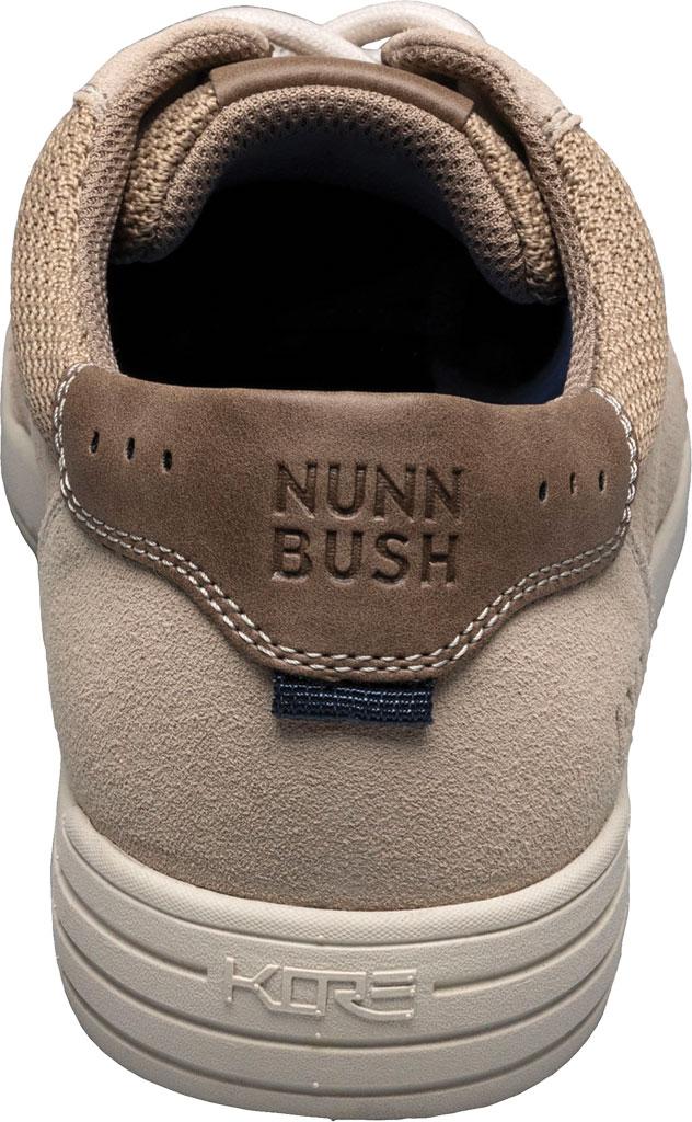 Men's Nunn Bush Kore City Walk Lace To Toe Oxford, Stone Multi Perforated Leather, large, image 3
