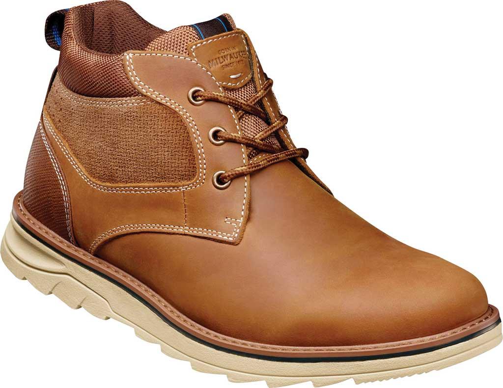 Men's Nunn Bush Luxor Plain Toe Chukka Boot, Tan Crazy Horse Leather, large, image 1