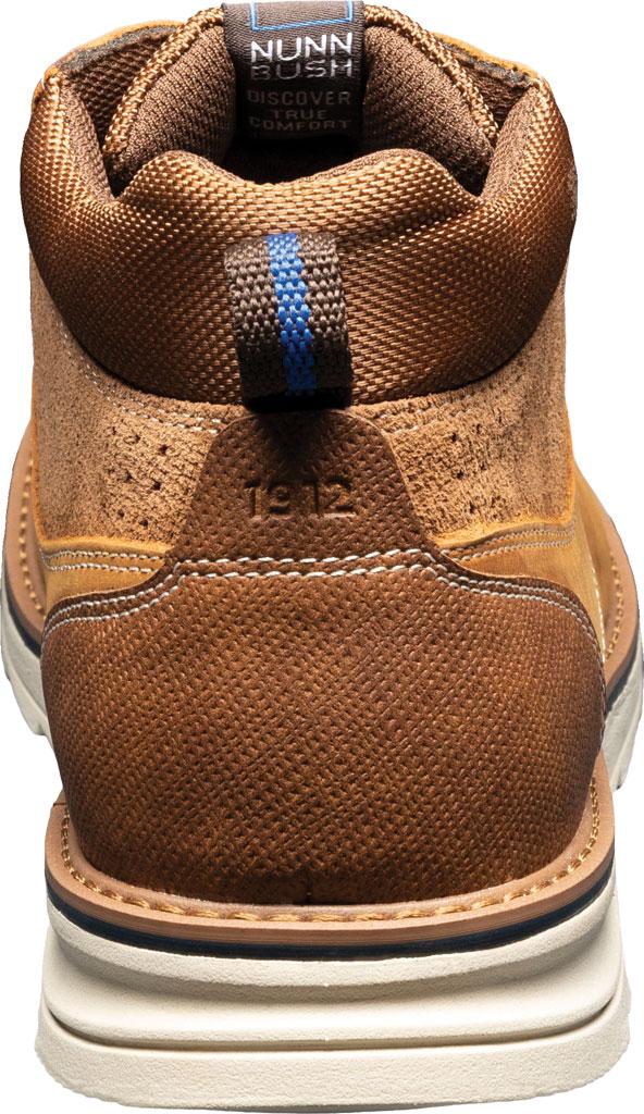 Men's Nunn Bush Luxor Plain Toe Chukka Boot, Tan Crazy Horse Leather, large, image 4