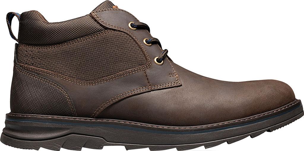 Men's Nunn Bush Luxor Plain Toe Chukka Boot, Brown Crazy Horse Leather, large, image 2