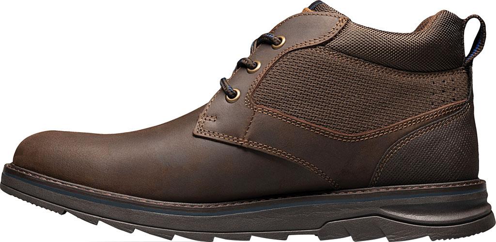 Men's Nunn Bush Luxor Plain Toe Chukka Boot, Brown Crazy Horse Leather, large, image 3