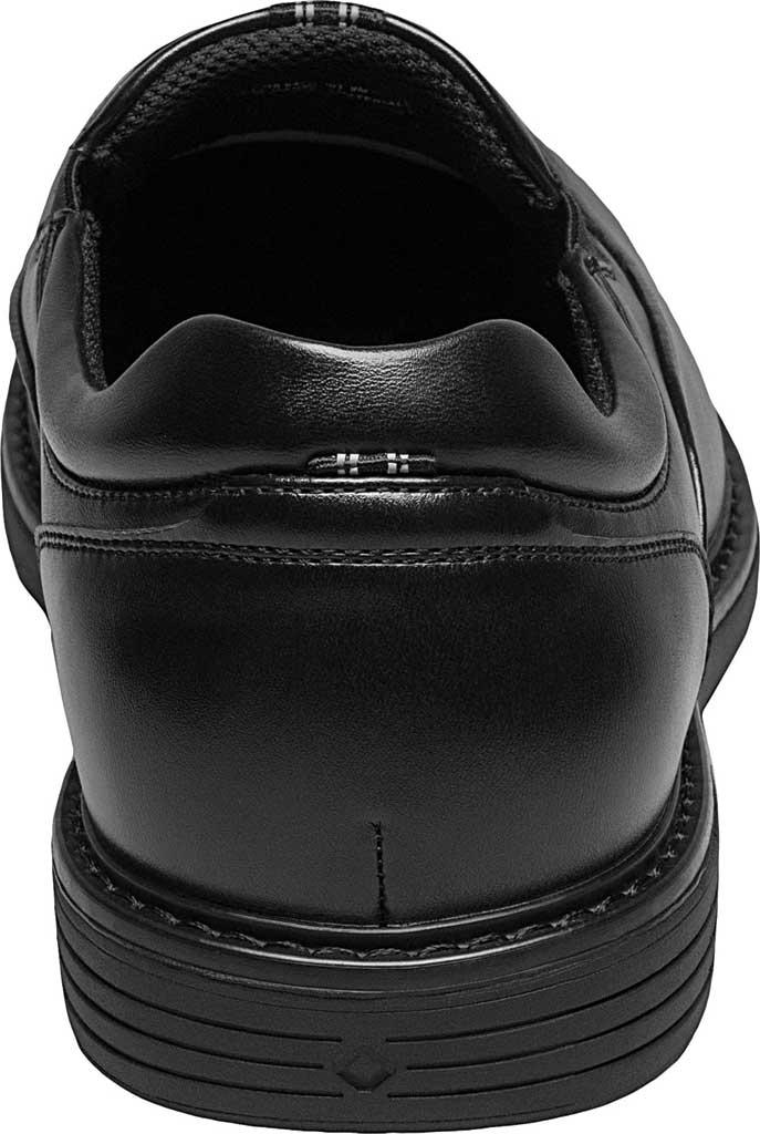 Men's Nunn Bush Wade Work Slip On Loafer, Black Faux Leather, large, image 4