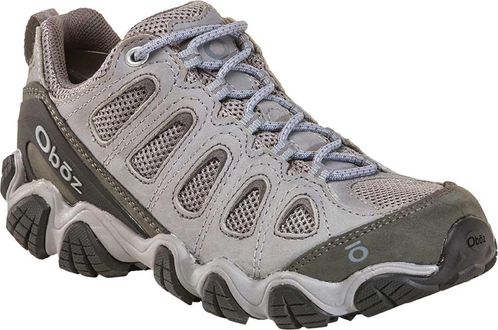 Women's Oboz Sawtooth II Low Hiking Shoe, Tradewinds Blue Nubuck, large, image 1
