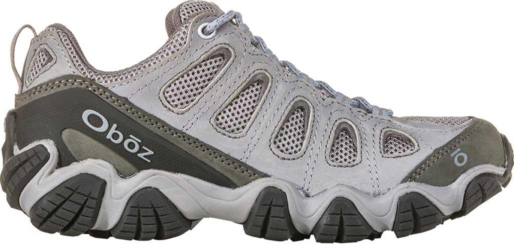 Women's Oboz Sawtooth II Low Hiking Shoe, Tradewinds Blue Nubuck, large, image 2