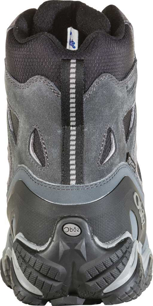 """Men's Oboz Sawtooth II 8"""" Insulated B-DRY Waterproof Boot, Pewter/Frost Grey Waterproof Split Suede/Textile, large, image 3"""