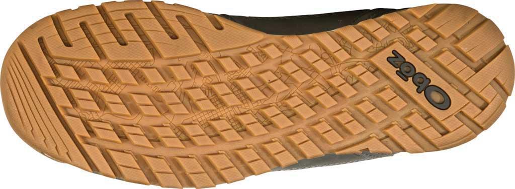 Men's Oboz Bozeman Mid Sneaker, Steel Waterproof Nubuck/Recycled Textile, large, image 6