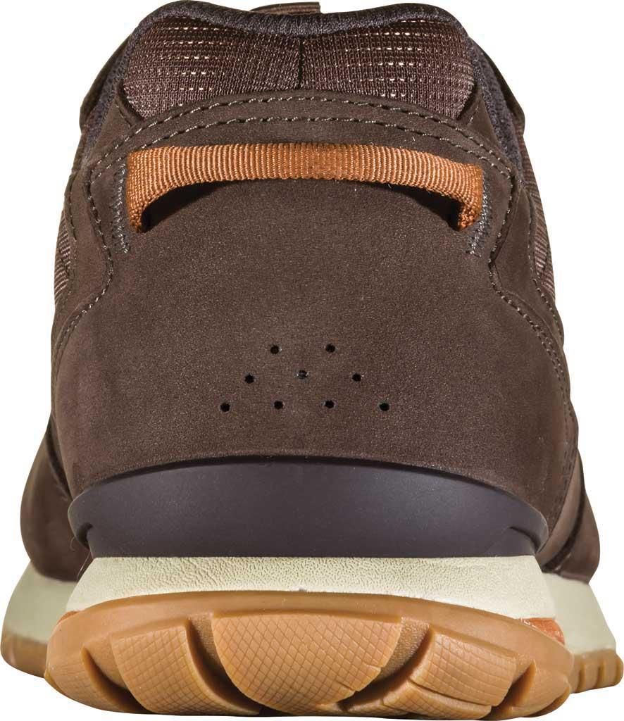Men's Oboz Bozeman Low Trail Shoe, Bark Waterproof Nubuck/Recycled Textile, large, image 4