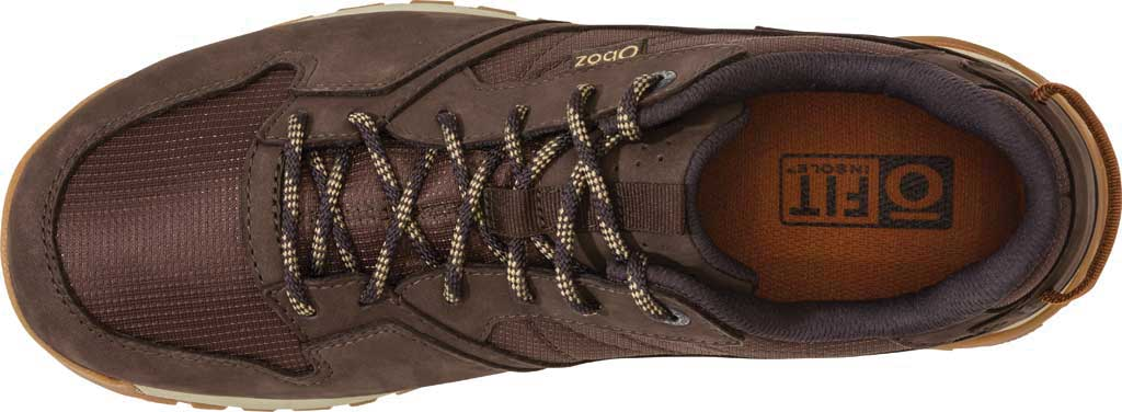 Men's Oboz Bozeman Low Trail Shoe, Bark Waterproof Nubuck/Recycled Textile, large, image 5