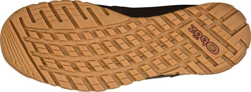 Men's Oboz Bozeman Low Trail Shoe, Bark Waterproof Nubuck/Recycled Textile, large, image 6