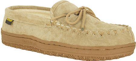 Women's Old Friend Terry Cloth Moccasin Slipper, Chestnut/Cloth, large, image 1