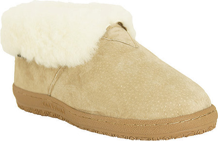 Old Friend Bootee Slipper, Chestnut/White, large, image 1