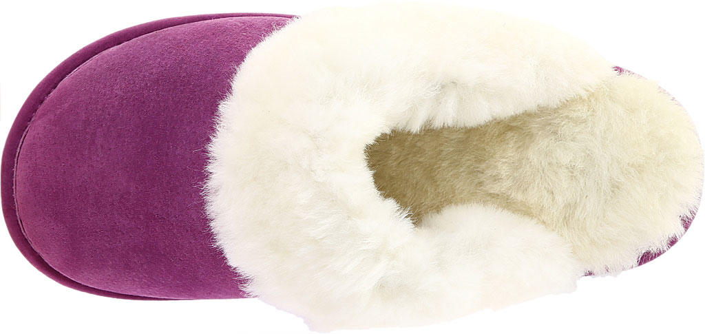 Women's Old Friend Scuff Slipper, Purple Leather, large, image 5