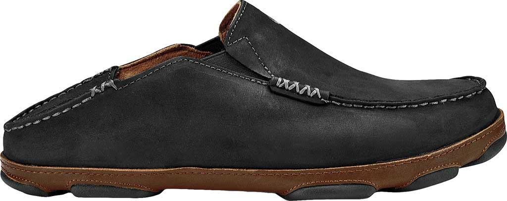 Men's OluKai Moloa Slip-on, Black/Toffee, large, image 2