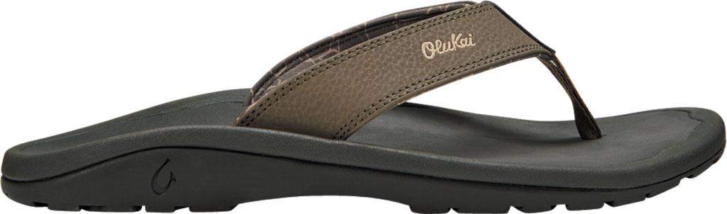 Men's OluKai Ohana Flip Flop, Banyan/Island Salt Synthetic, large, image 2