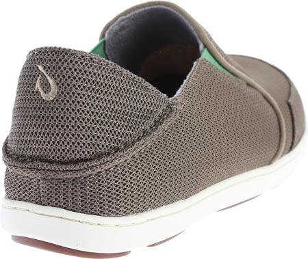 Men's OluKai Nohea Mesh Loafer, Mustang/Lime Peel, large, image 4