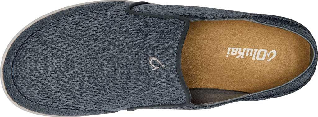 Men's OluKai Nohea Mesh Loafer, Wind Grey/Wind Grey Mesh, large, image 4