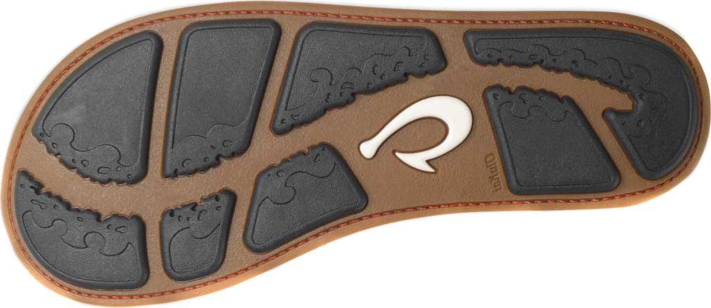 Men's OluKai Nui Flip Flop, Sand/Sand Waxed Nubuck, large, image 3