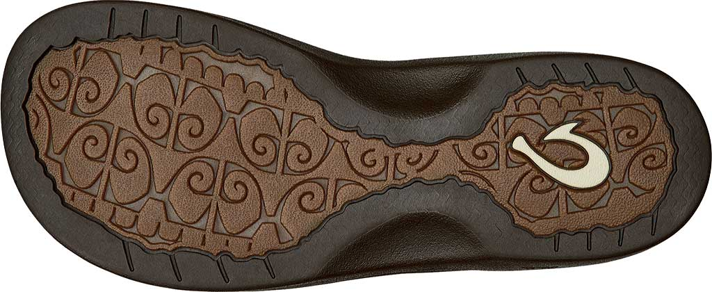 Women's OluKai Ohana Flip Flop, Dark Java/Dark Java, large, image 3