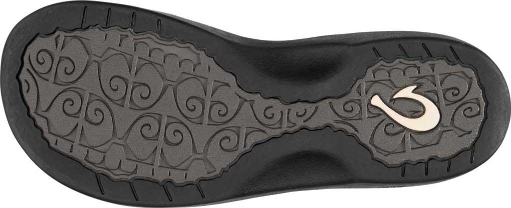 Women's OluKai Ohana Flip Flop, White/Black, large, image 3
