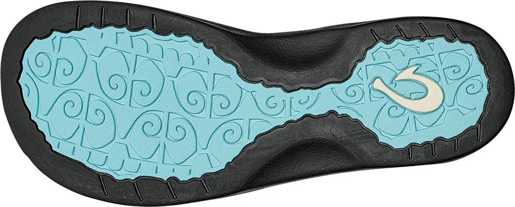 Women's OluKai Ohana Flip Flop, Sea Glass/Black, large, image 3