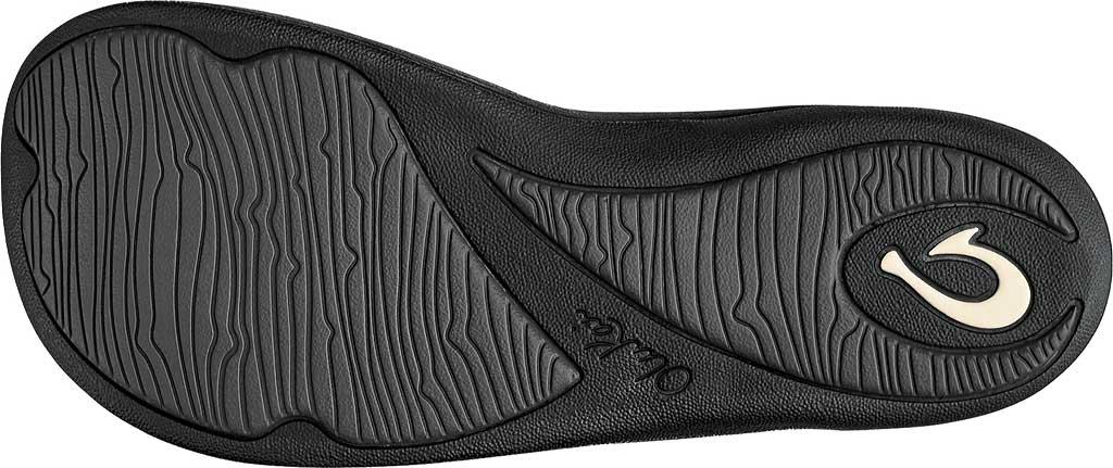 Women's OluKai Kulapa Kai Flip Flop, Black/Black, large, image 4