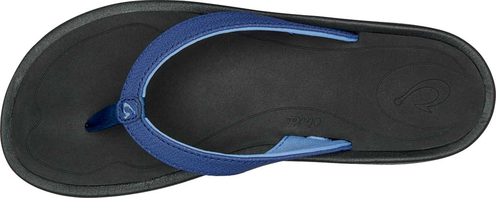 Women's OluKai Kulapa Kai Flip Flop, Navy/Black Synthetic, large, image 2