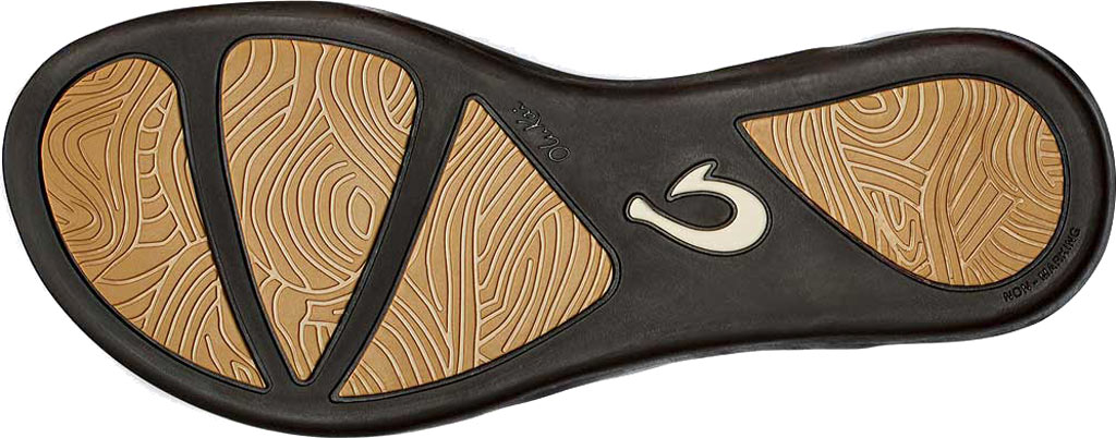Women's OluKai Ho'opio Flip-Flop, Dark Java Synthetic, large, image 3