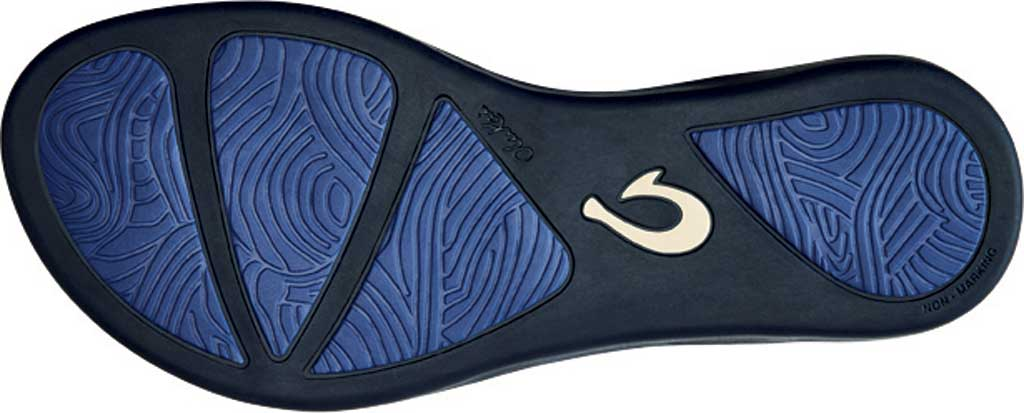 Women's OluKai Ho'opio Flip-Flop, Deepest Depths/Deepest Depths Synthetic, large, image 3