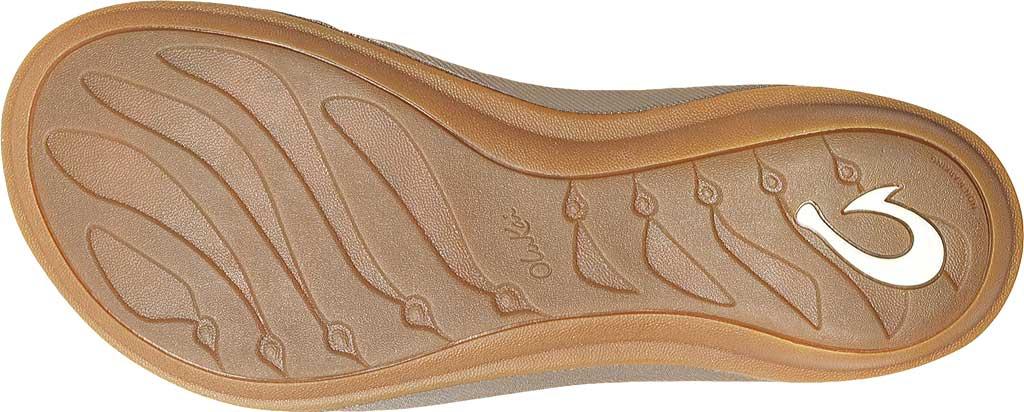 Women's OluKai U'I Thong Sandal, Bubbly/Sahara, large, image 3