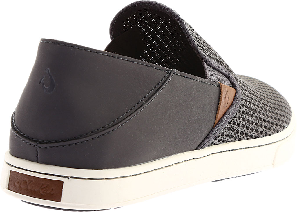 Women's OluKai Pehuea Slip On, Pavement/Pavement, large, image 4